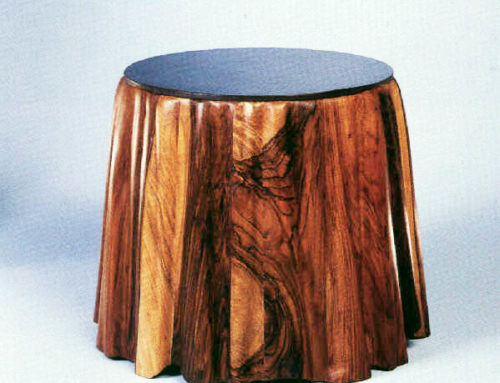 Marblecake English Walnut Table
